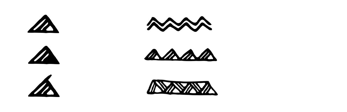 Polynesian Tattoo Symbols explained: enata