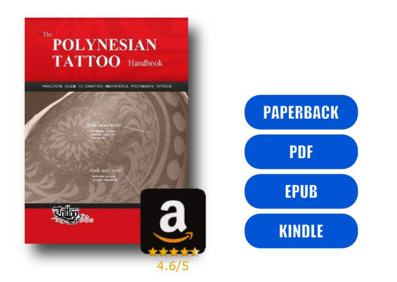 The Polynesian Tattoo Handbook Vol.1 - Front cover