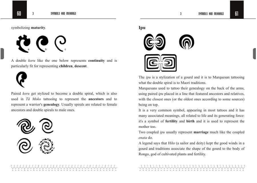 Polynesian tattoo symbols explained