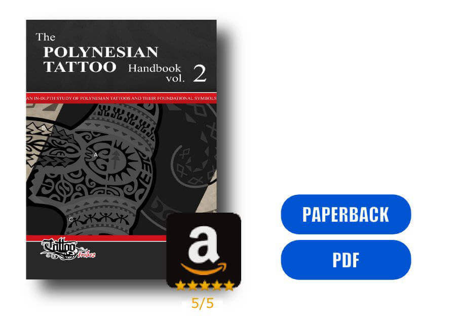 The Polynesian Tattoo Handbook Vol.2 - Front cover